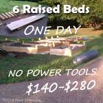 Build Raised Beds Cheaply