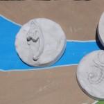 Kids Craft Homemade Fossils