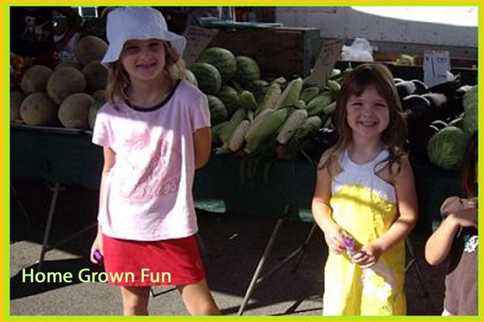 Kids Enjoy Farmers Markets