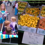 Children at Farmers Market