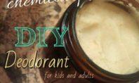 recipe homemade deodorant