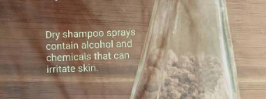 Homemade Dry Shampoo – Chemical Free and Non-Irritating