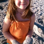 How to make plaster sand castings with children