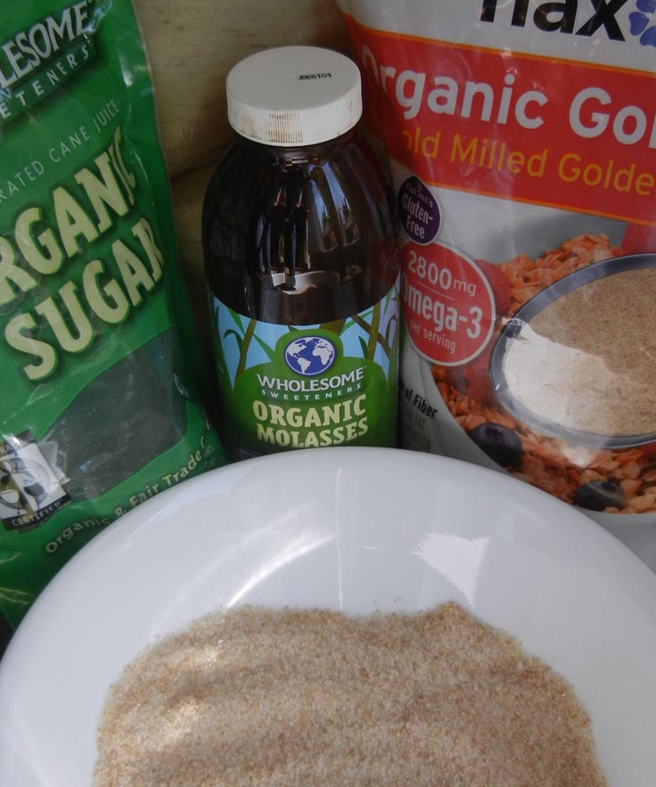 Organic Ingredients in Ginger Cookies