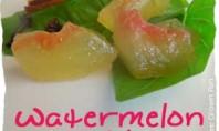 recipe watermelon pickles food