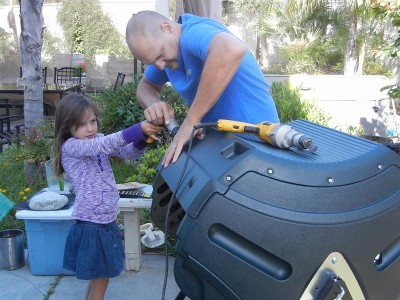 Review of the Lifetime Compost Tumbler