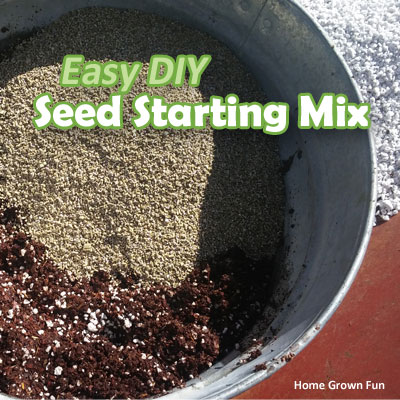 homemade seed starting soil