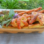 Home Made Soft Pretzels With Herbs by HomeGrownFun.com