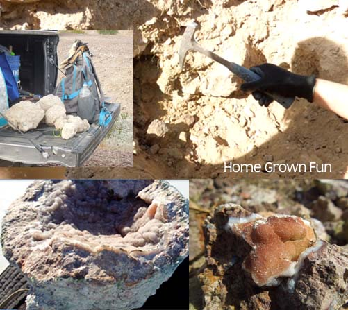 What is a Geode and How Do You Hunt for Geodes? | Home Grown Fun