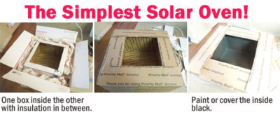 HOW TO Make a Simple Solar Oven