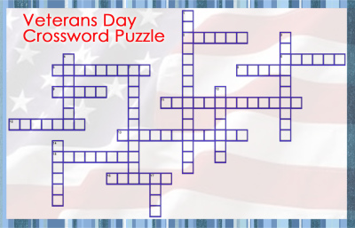Veterans Day Crossword Puzzle
