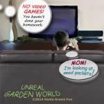 Kids and Seeds Unreal Garden World