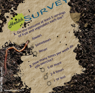 Worm Composting Benefits - How Worms See It - Health Survey
